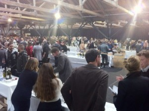 The Real Wine Fair 2013, starting up.
